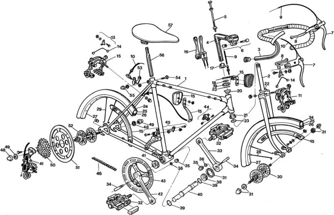 Bike construction process
