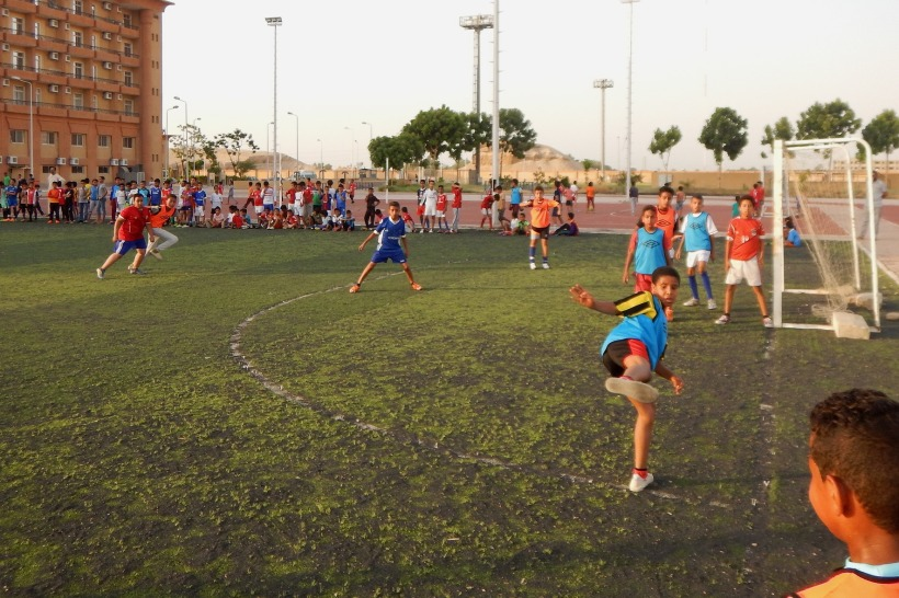 Rababha Football activity